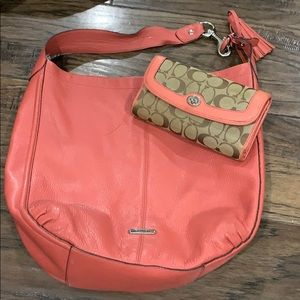 Coach Bag and Wallet Combo
